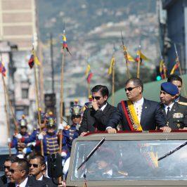 """El """"fuera Correa, fuera"""" y la institucionalidad de Ecuador"""