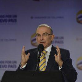 Humberto De la Calle hace un balance al proceso de negociación con las FARC