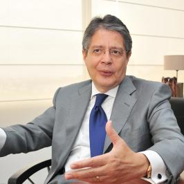 """Guillermo Lasso: """"Es imprescindible que Ecuador deje de solapar a regímenes no democráticos"""""""