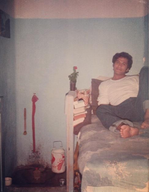 Abdelaziz Tribak en la prisión central de Kenitra a comienzos de los años ochenta