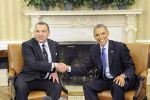El rey Mohamed VI y el presidente Barak Omaba, en la Casa Blanca. Reuters