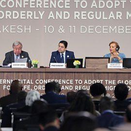 Marrakech: escenario de respaldo y adopción formal del Pacto Mundial para una Migración Segura, Ordenada y Regular