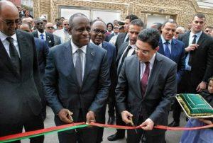 Costa de Marfil inauguró oficialmente este martes un consulado general en Laayoune, la ceremonia fue presidida por el canciller marroquíNasser Bourita